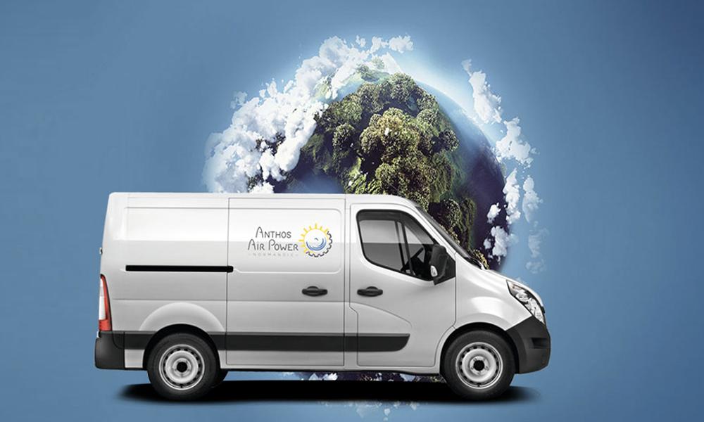 Anthos Air Power, la startup normande qui veut vous faire rouler à l'air comprimé