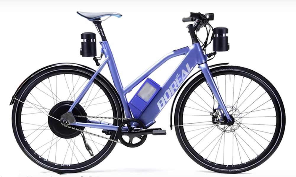 Ce vélo connecté en 5G permet d'éviter les accidents