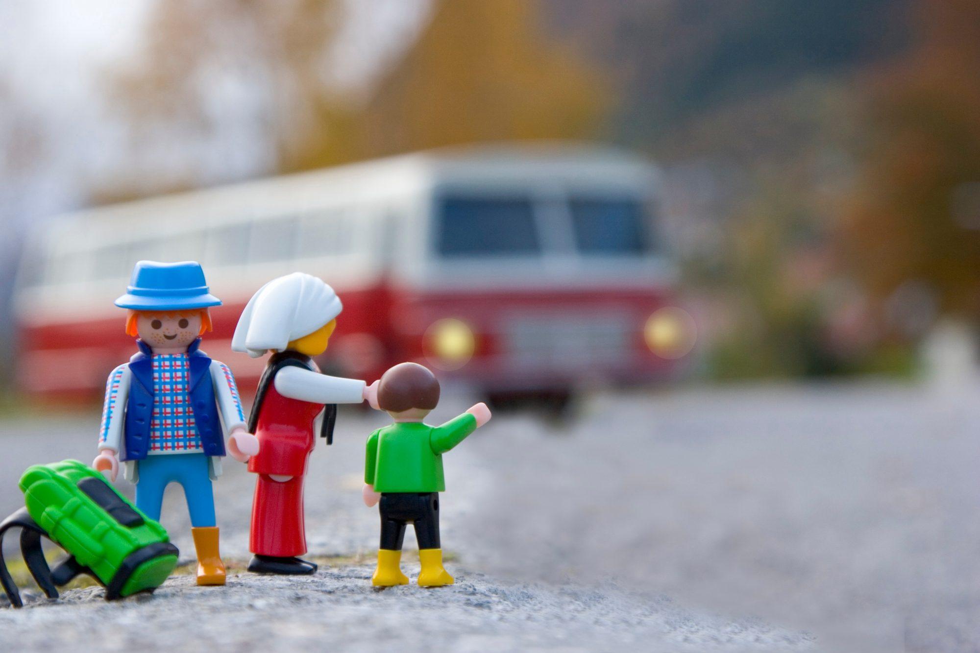 Les bus s'arrêteront bientôt sur l'autoroute pour prendre des passagers