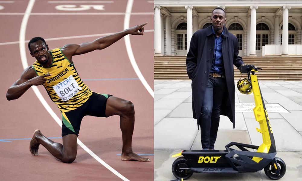 Plus rapides que l'éclair : voici les trottinettes électriques Usain Bolt