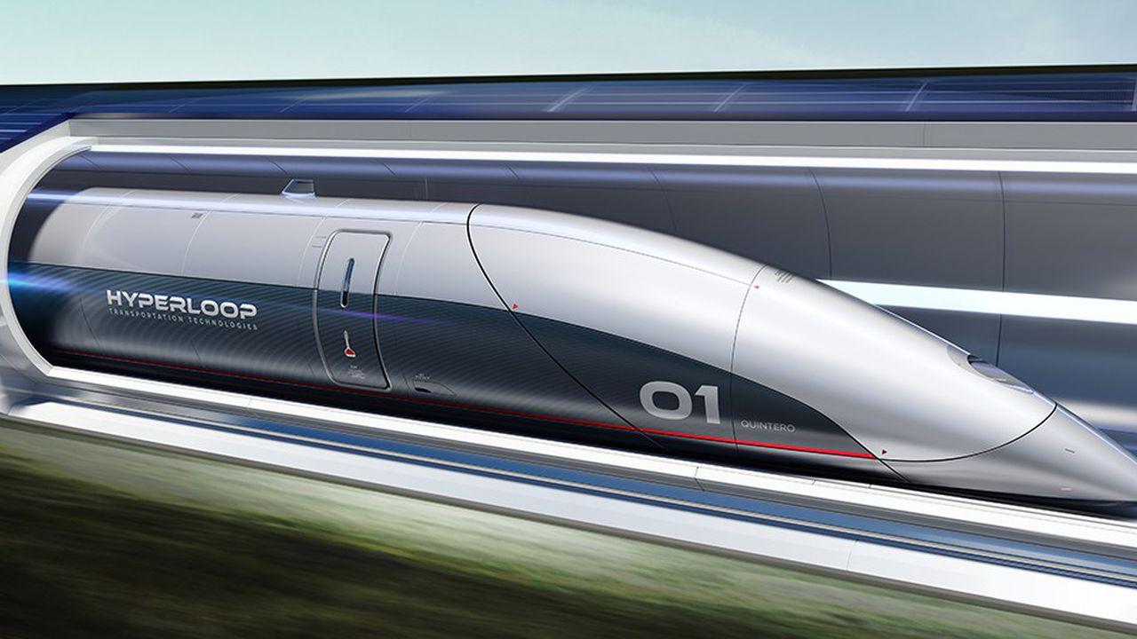 Hyperloop : le train à 1200 km/h va être testé avec des passagers en 2020