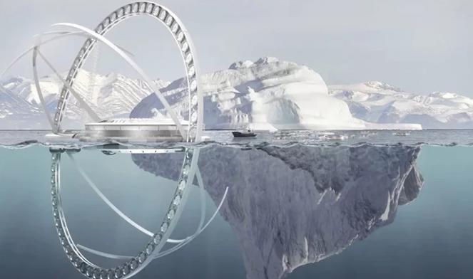 Ils veulent refroidir l'Arctique avec un énorme vaporisateur d'eau de mer