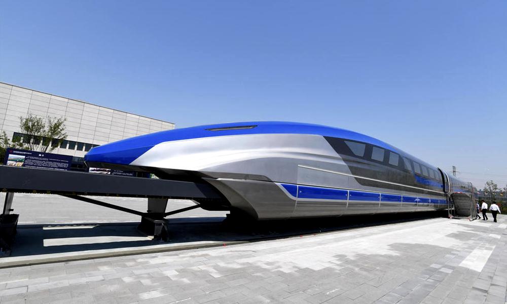 600 km/h : ce train chinois va deux fois plus vite que le TGV