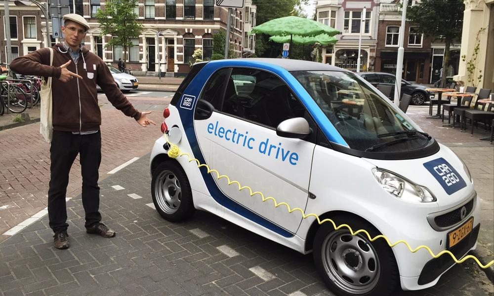 Les Pays-Bas, champions européens de la voiture électrique
