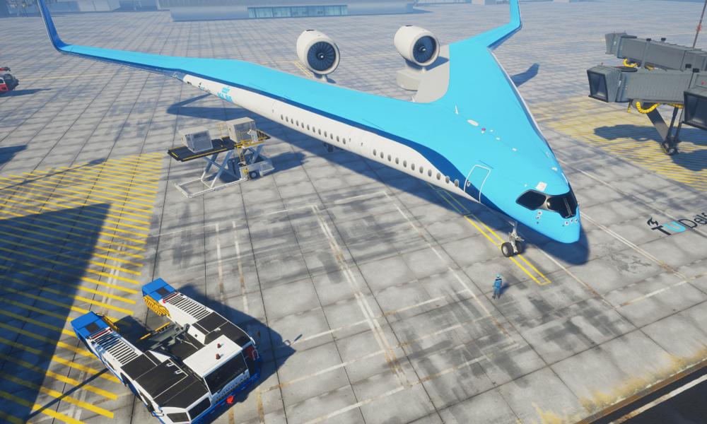 Flying-V, l'avion qui vous fait voyager dans les ailes pour consommer moins