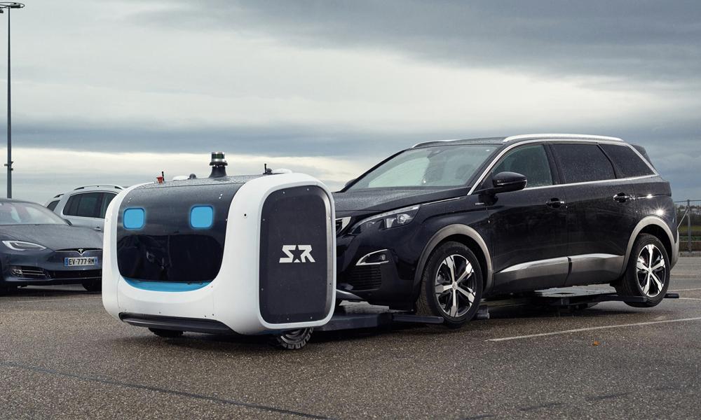 50% de places de parking en plus grâce au robot-voiturier de Stanley Robotics