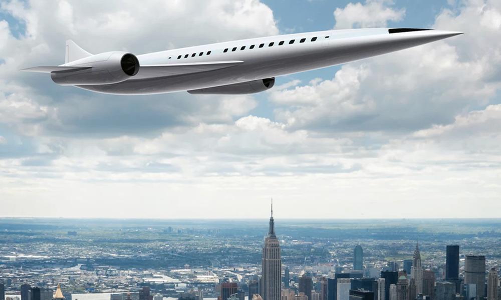Un avion supersonique promet des vols Paris-New York en 90 minutes