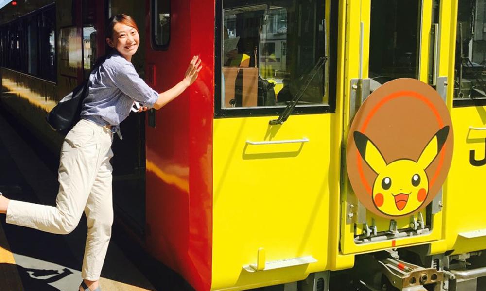Si vous trouvez le RER trop ringard, vous allez adorer ce train Pikachu