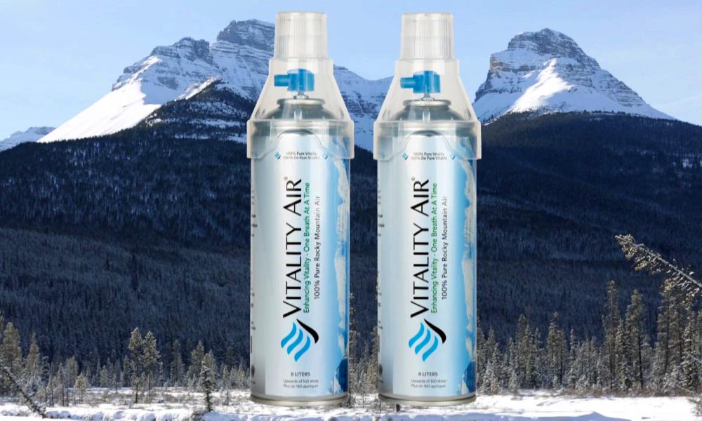 """""""Made in Canada"""" : des bouteilles d'air pur pour mieux respirer en ville"""