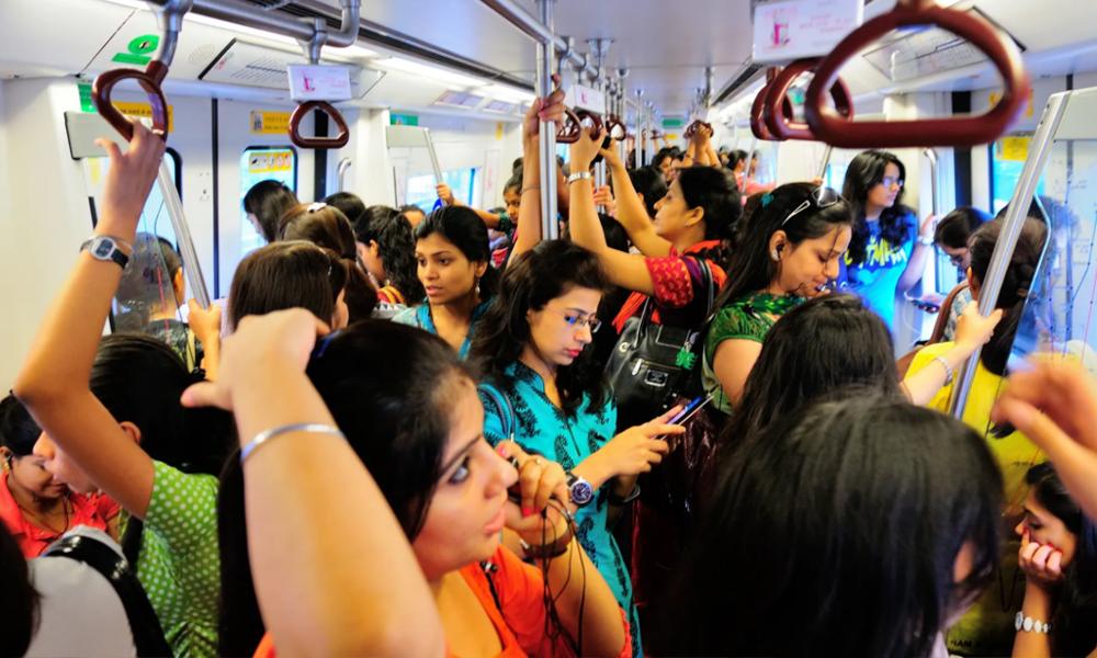 En Inde, tous les transports en commun seront bientôt gratuits pour les femmes