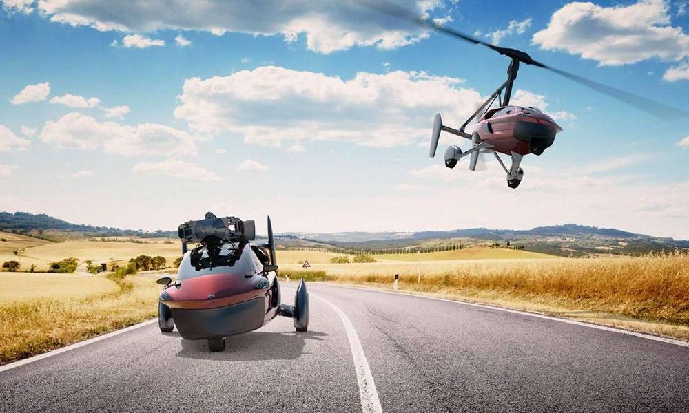 Avion ou voiture ? Ce véhicule fait les deux