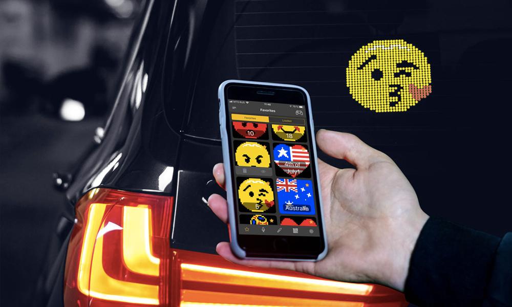 Tendance 2019 : afficher n'importe quel émoji sur votre voiture