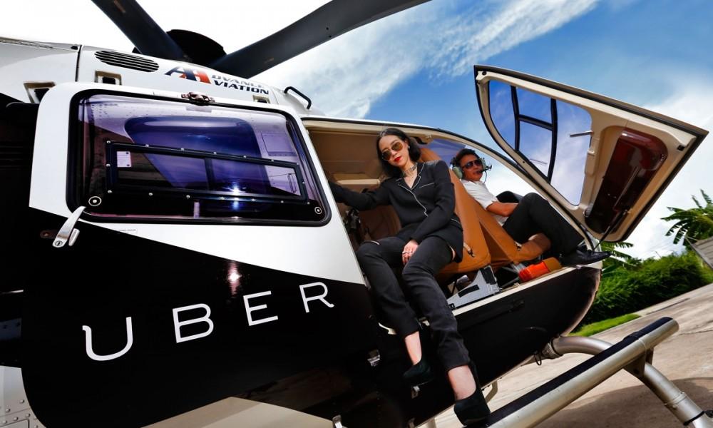 En test à New York : des hélicoptères Uber à 20 € la minute