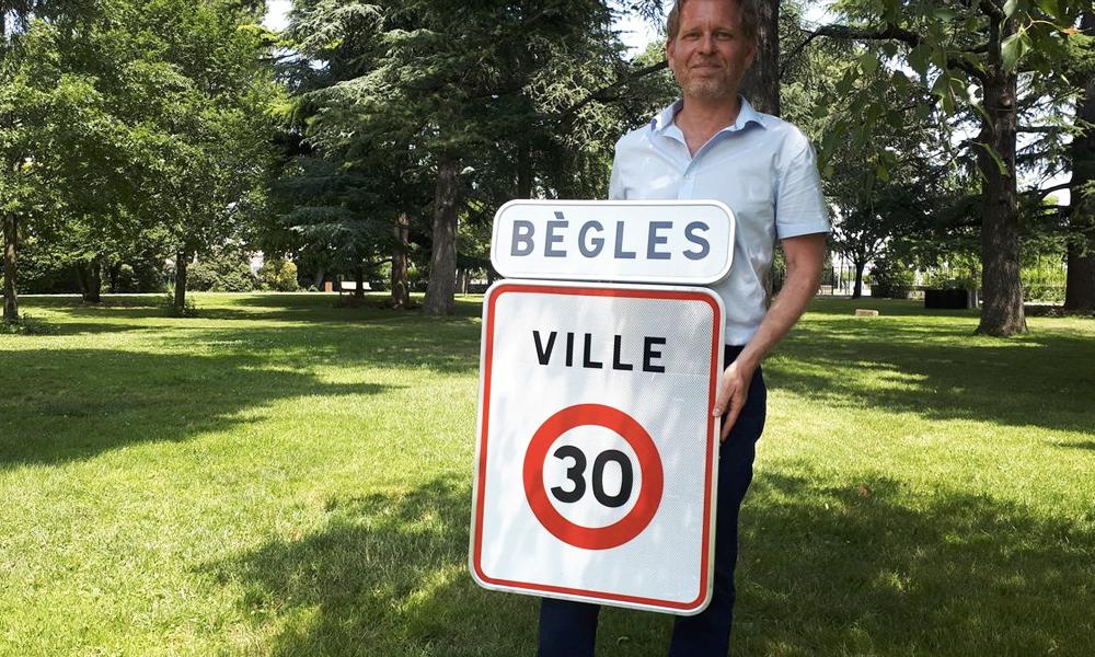 Bègles, première grande ville française à imposer le 30 km/h