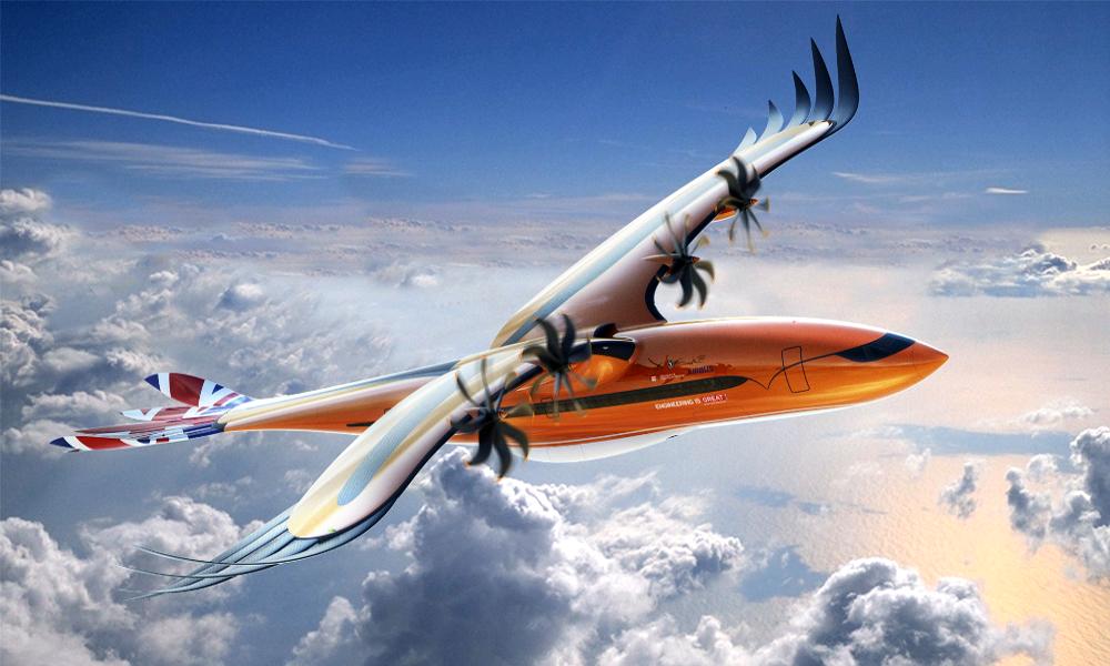 Selon Airbus, l'avion du futur sera… un oiseau