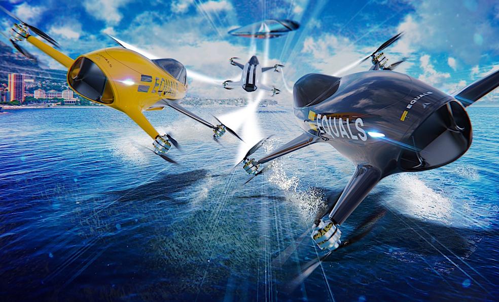 Les courses de voitures volantes pourraient bien débarquer dès 2020