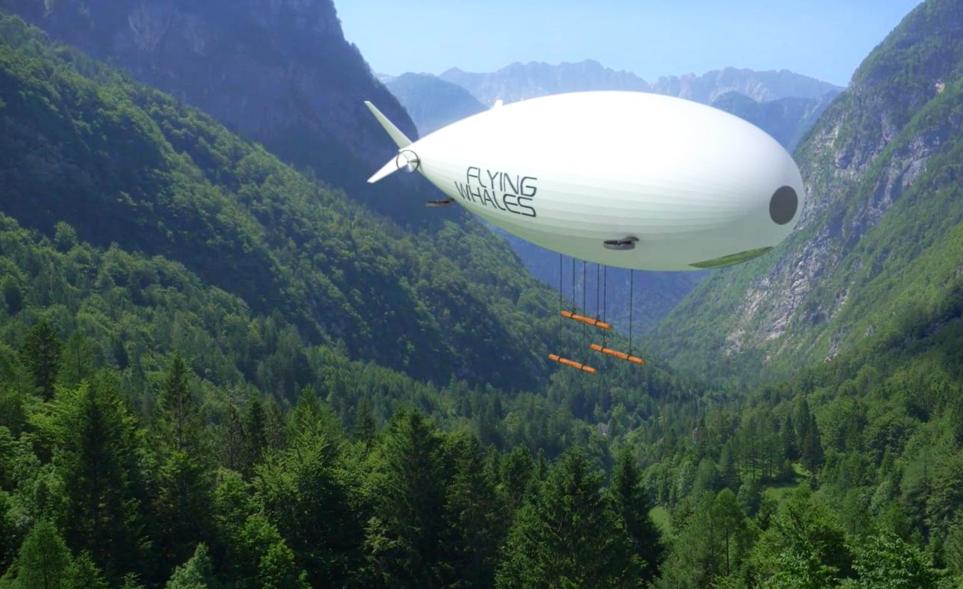 Une startup française veut transporter les matériaux lourds sur des dirigeables écolos