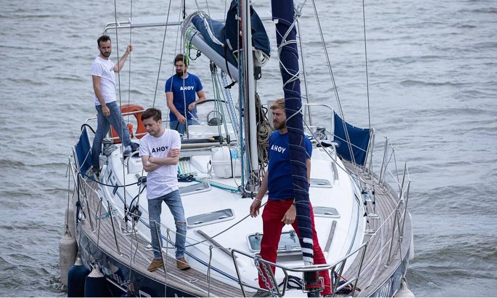 Quatre marins partent à l'assaut de l'Atlantique pour lutter contre la mucoviscidose