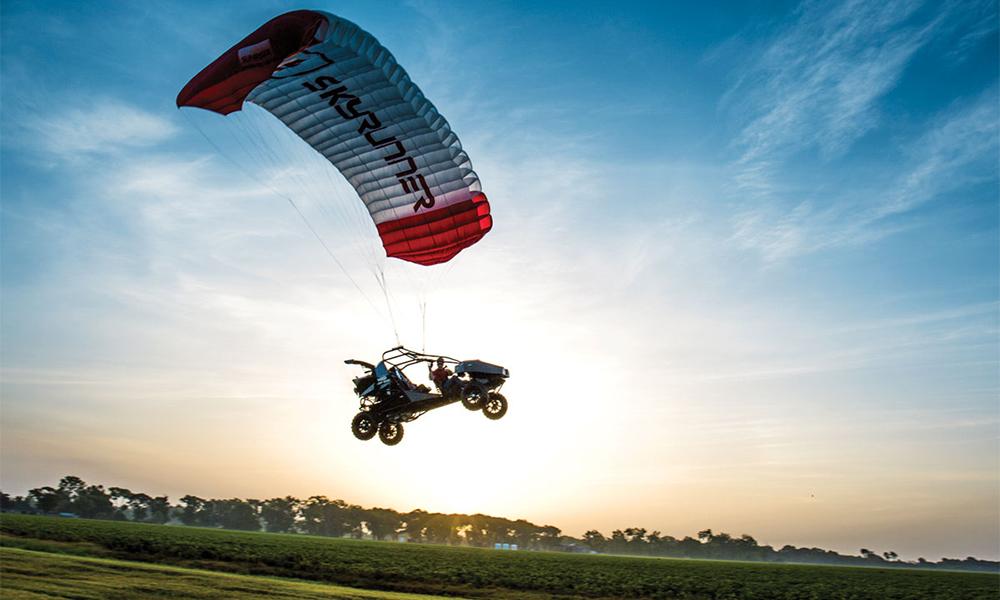 Le sport le plus tendance de l'été, c'est le buggy parapente