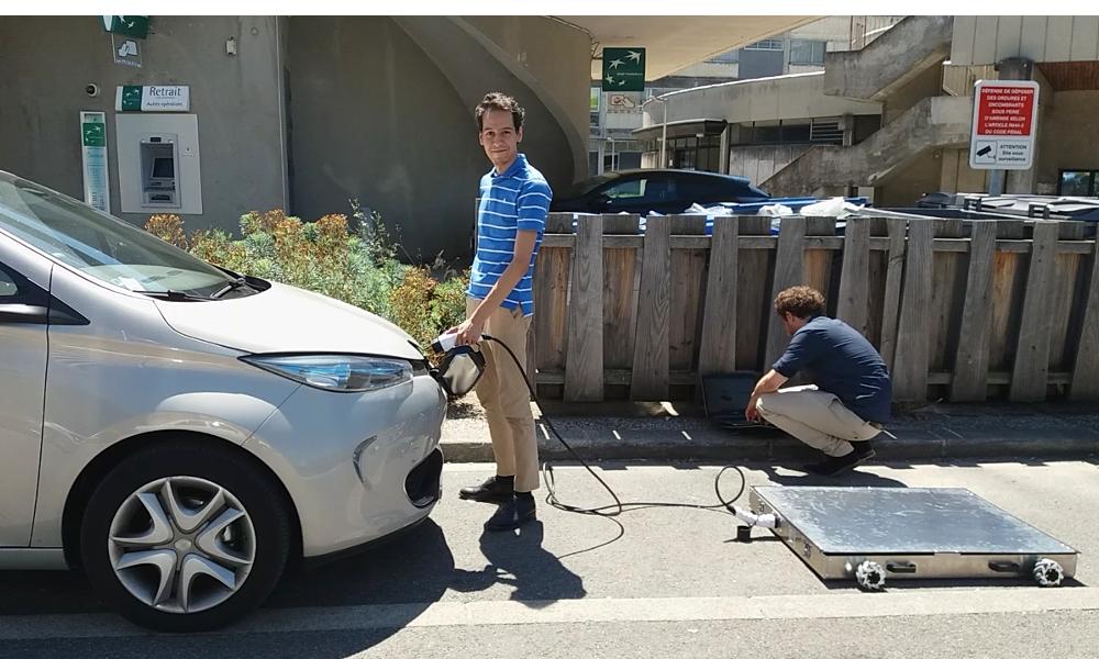 On a parlé avec Mob-Energy, le robot chargeur de voitures électriques