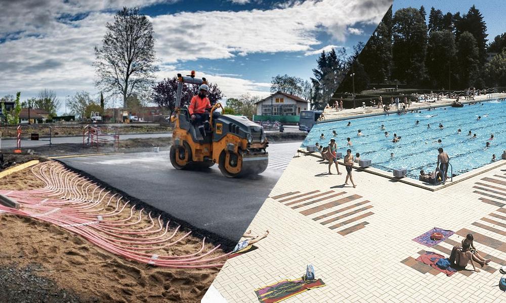 En Auvergne, cette route solaire chauffe l'eau de la piscine municipale