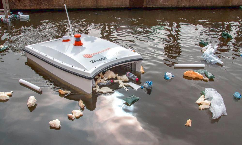 Au Danemark, ce requin-drone dévore les déchets des ports