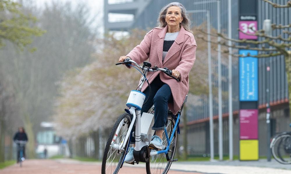 Des Hollandais inventent le vélo qui ne chute jamais