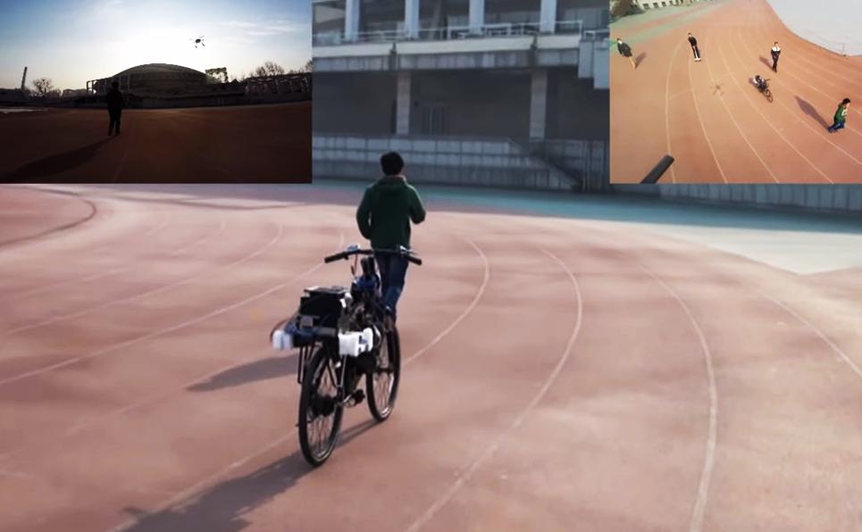 La Chine invente le vélo qui vous suit partout comme un chien