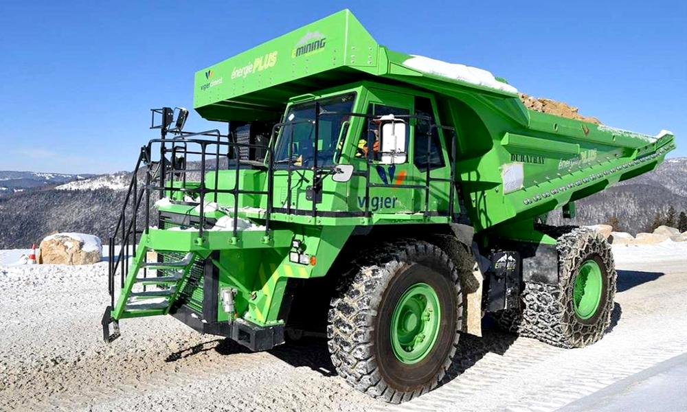 Ce camion électrique est le plus puissant du monde (et il se recharge tout seul)
