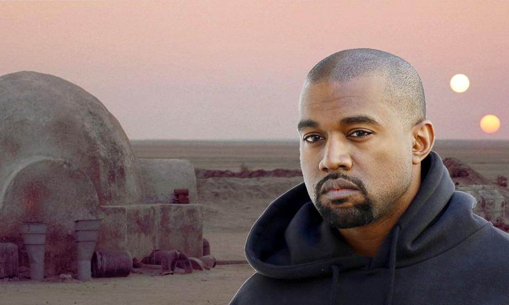 """Pour loger les sans-abri, Kanye West fabrique les maisons """"igloo"""" de """"Star Wars"""""""