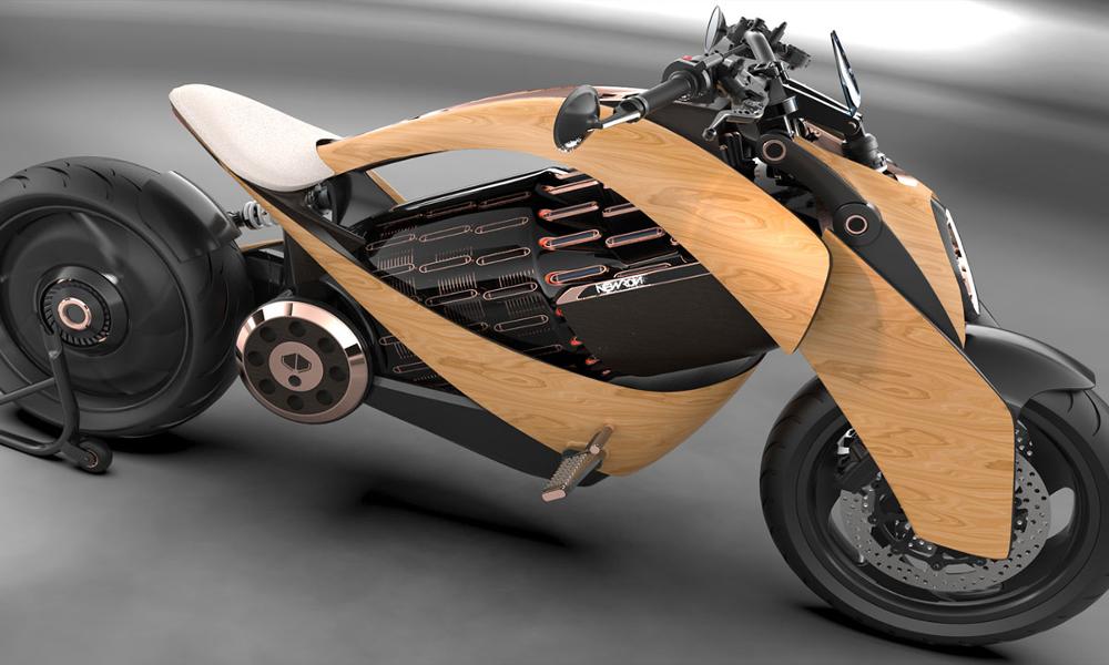 Électrique et en bois : la moto que tout le monde attendait est française