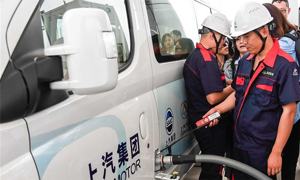 La Chine ouvre la plus grande station à hydrogène au monde
