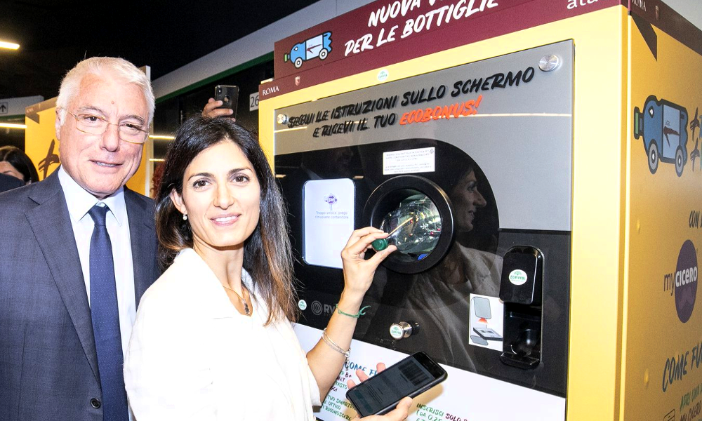 Recycler des bouteilles contre un ticket de métro: l'Italie s'y met aussi