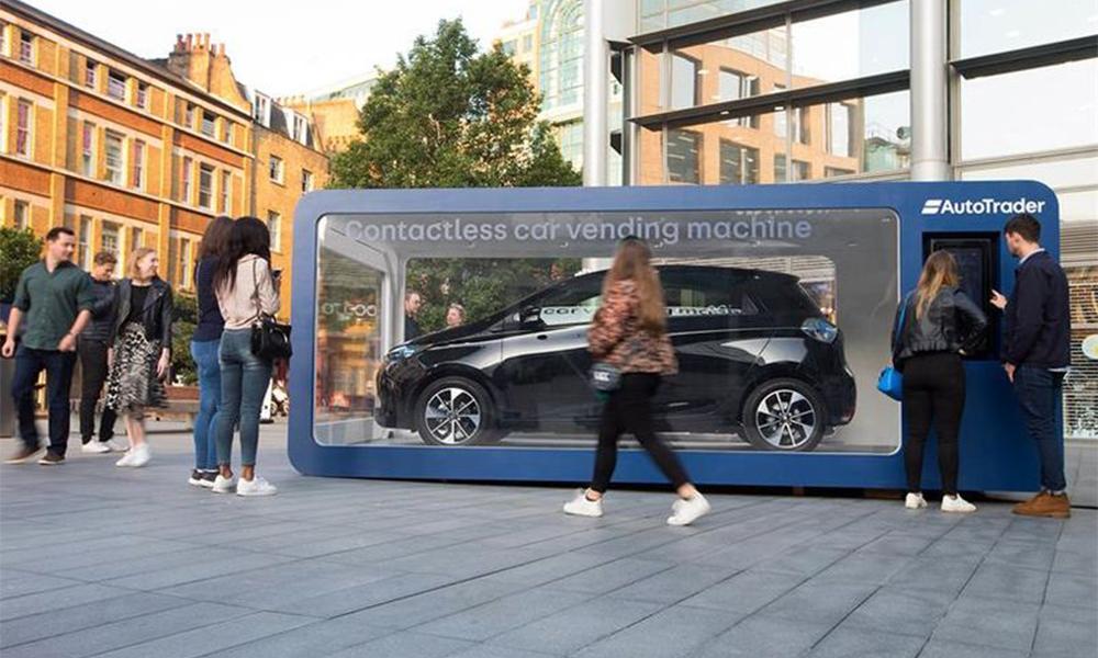En Angleterre, on peut désormais acheter une voiture comme un paquet de chips