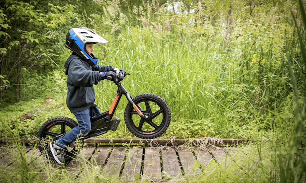 Vos enfants n'auront besoin de personne sur ces mini Harley-Davidson
