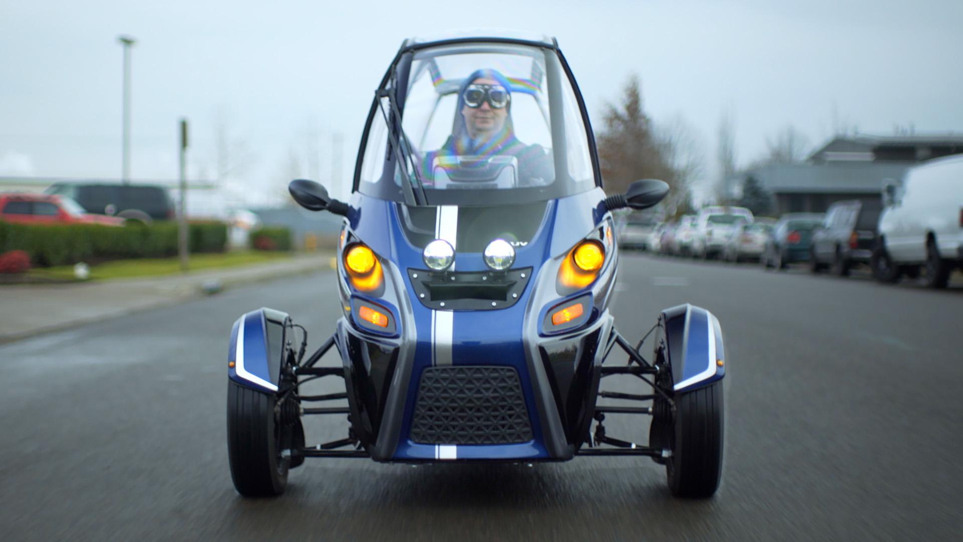 Le plus cool des tricycles électrique est à vous pour… 18 000 euros