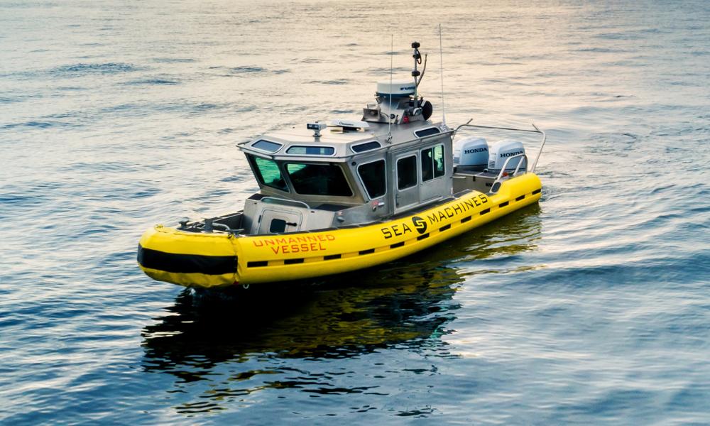 Ce bateau sans pilote va bientôt nettoyer les marées noires