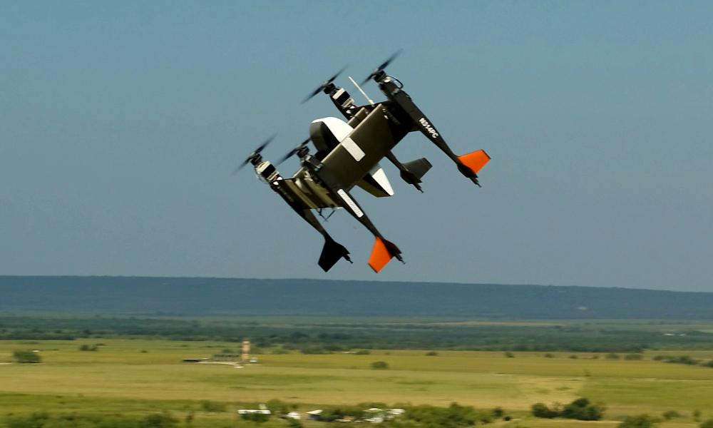 Ce drone gros comme un déménageur peut transporter un congélateur