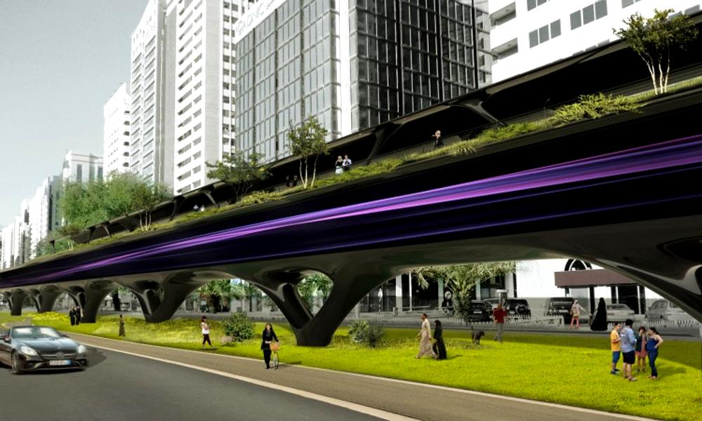 Hyperloop : le premier train supersonique devrait fonctionner à l'énergie solaire