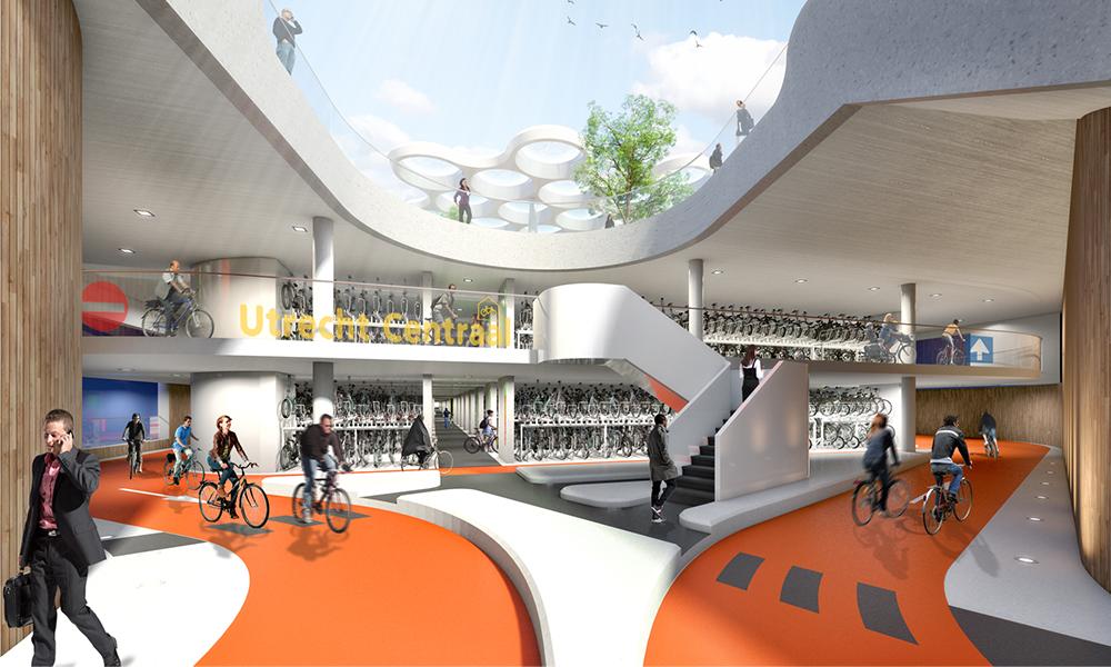Voici le plus grand parking à vélos du monde (et il est hollandais)