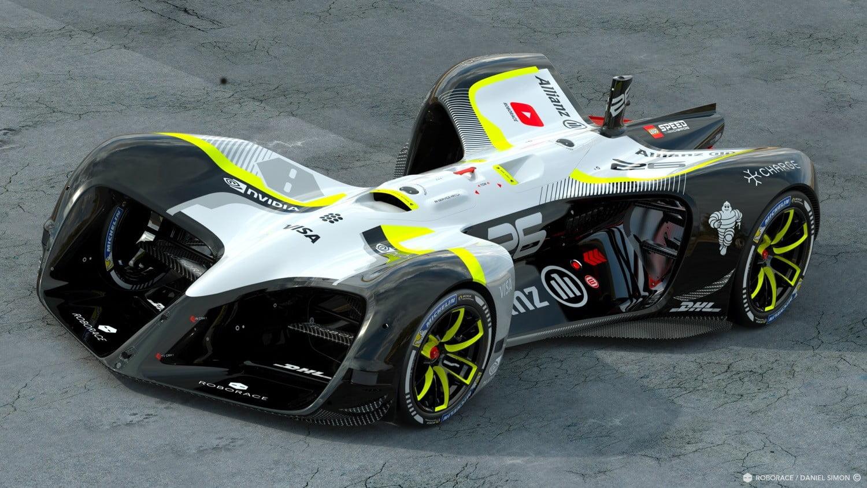 282 km/h au compteur : voici la voiture autonome la plus rapide au monde