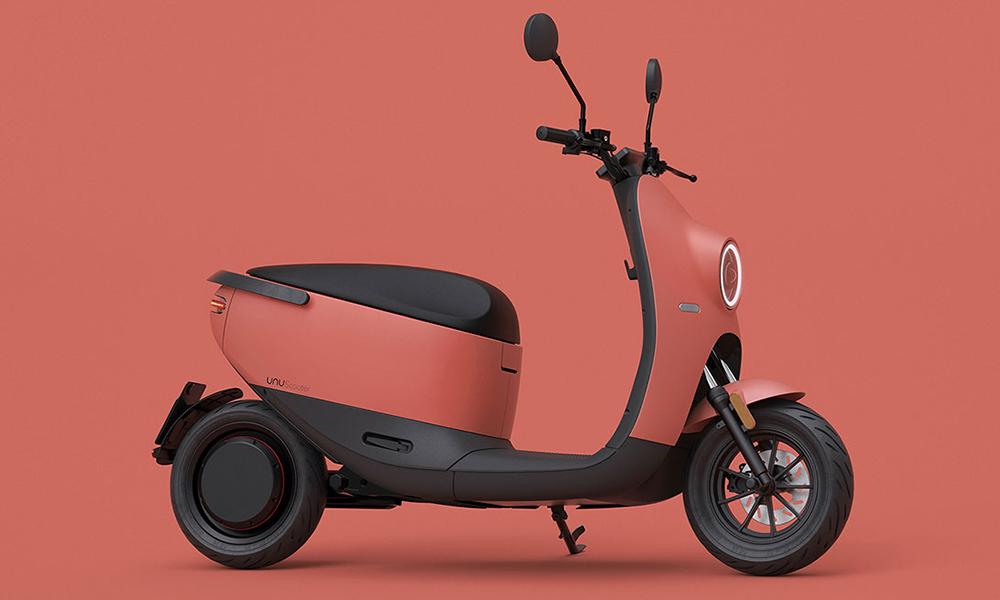Un téléphone portable suffit pour démarrer ce scooter électrique trop mignon