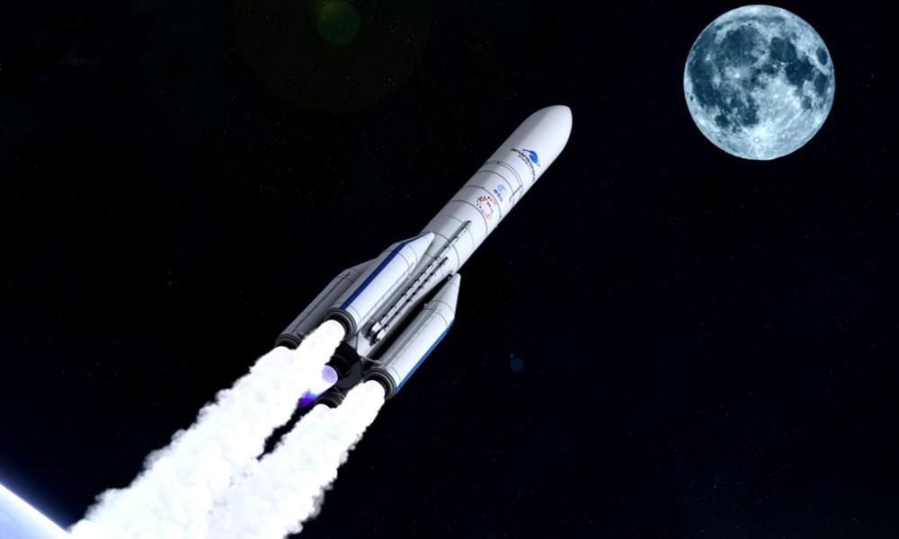 """L'Europe annonce les premiers """"covoiturages"""" vers la Lune pour 2023"""