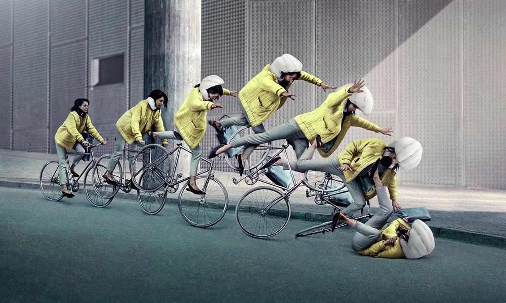 Voici Hövding, le premier airbag-capuche pour vous, les cyclistes