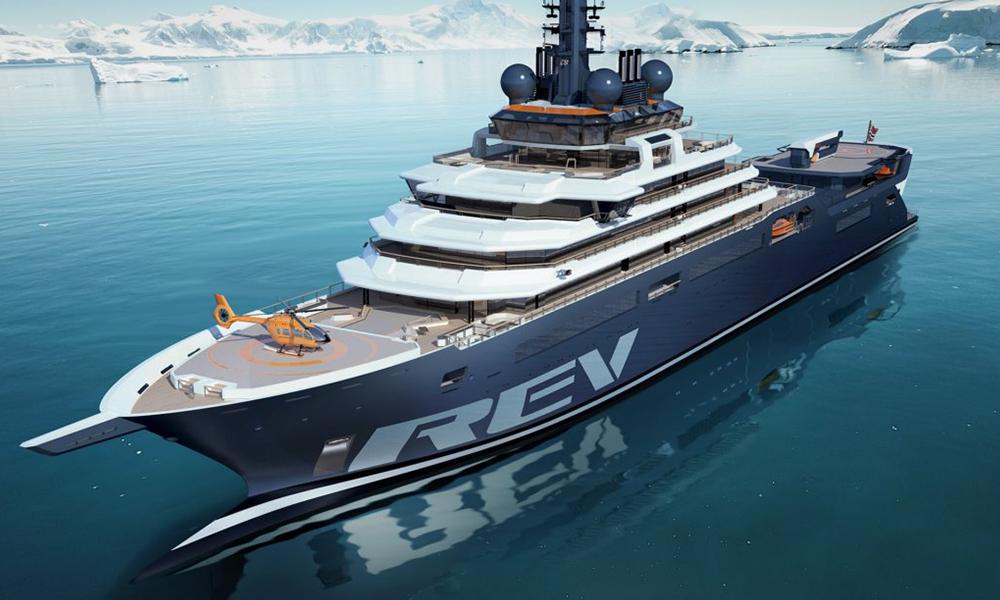 Dès 2021, cet énorme yacht avalera le plastique des océans