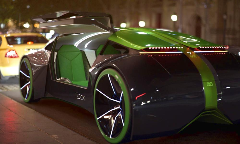 Las Vegas expérimente le Boz, un taxi autonome tout droit venu du futur