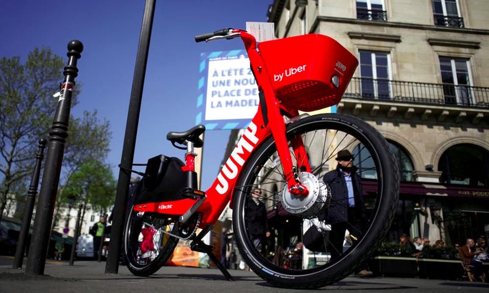 Si vous êtes parisien et au RSA, Uber vous offre 10 minutes de vélo par jour