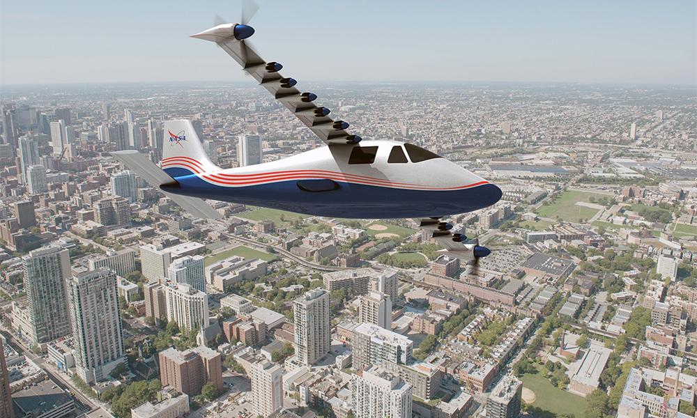 La NASA lance un avion 100% électrique pour nettoyer le ciel