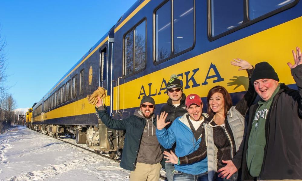 Avis aux amateurs de bières, ce train visite les brasseries d'Alaska