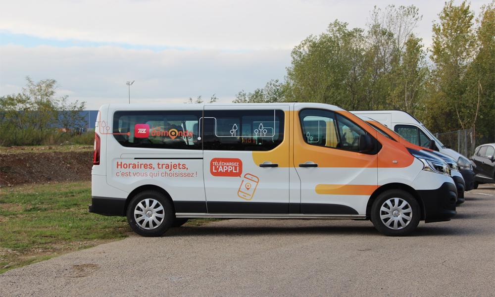Plus fort que le taxi, Lyon lance un service de mini-bus à la demande